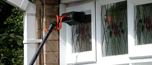 Window cleaner in Southside Glasgow